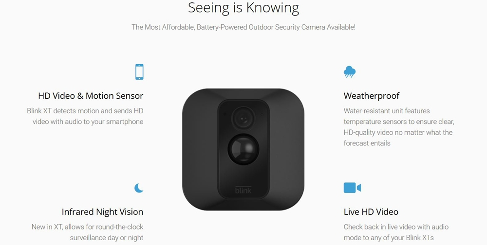 Blink For Home Outdoor Camera
